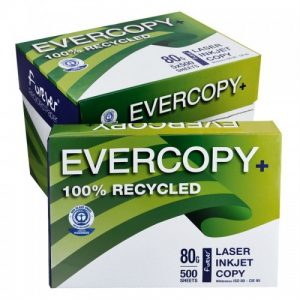 Evercopy reciklirani papir A4