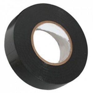 Izolir traka crna 15 mm 10 m