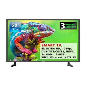 """Televizor Blaupunkt 50"""" smart tv 4K UHD tv"""