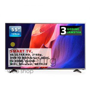 Televizor Blaupunkt 55 smart tv 4k UHD tv