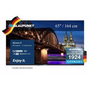 """Televizor Blaupunkt 65"""" smart tv 4k UHD tv"""